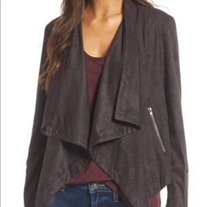 Cupcakes and Cashmere ultrasuede jacket, NWT